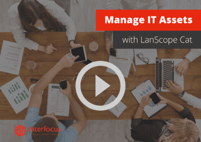 How to Use LanScope Cat to Manage IT Assets